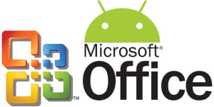 Microsoft office Android suite