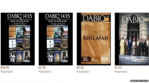 Dabiq magazine on Amazon site