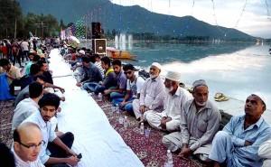 longest Iftar in Srinagar