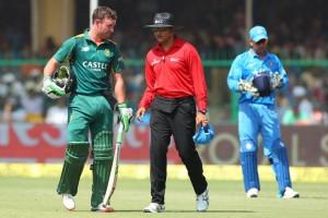 official complaint againt umpire vineetkulkarni