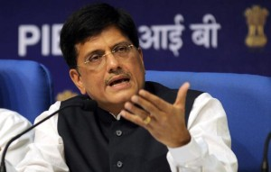 Union Power Minister Piyush Goshal