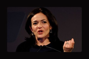 Sheryl Sandberg, first woman on Facebook's board of directors
