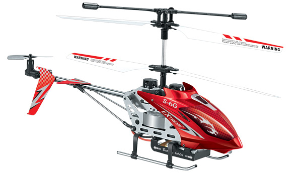 Remote Control Helicopter - International inside on