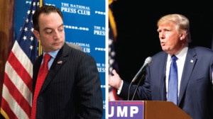Priebus has to deal with the Donald Trump dilemma