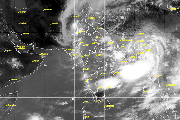 Skymet Predicts Favorable Monsoon Forecast In India - Live map india satellite