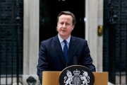 David Cameron Resigns after the EU Leave Team Wins