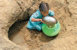 depleting groundwater table in India