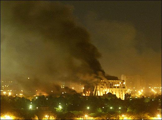 IS bombs Baghdad
