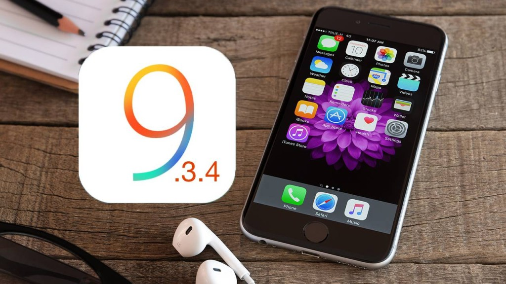 Apple iOS 9.3.4