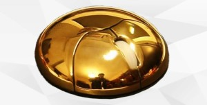 Gold Metal Sun Mouse
