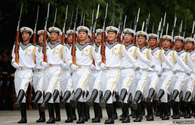 A Strategy document shows China's Plan to strengthen its Navy