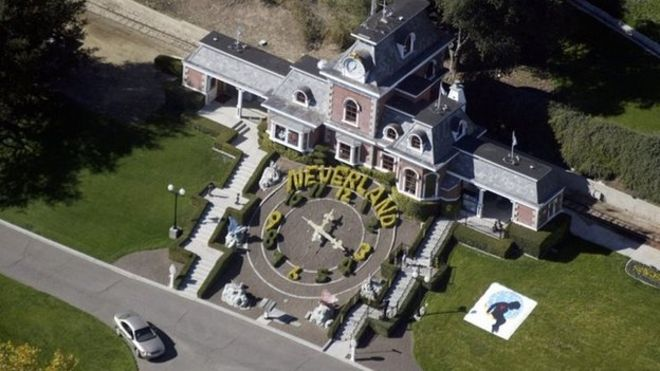 "Michael Jackson's dream ""Neverland"" for sale"