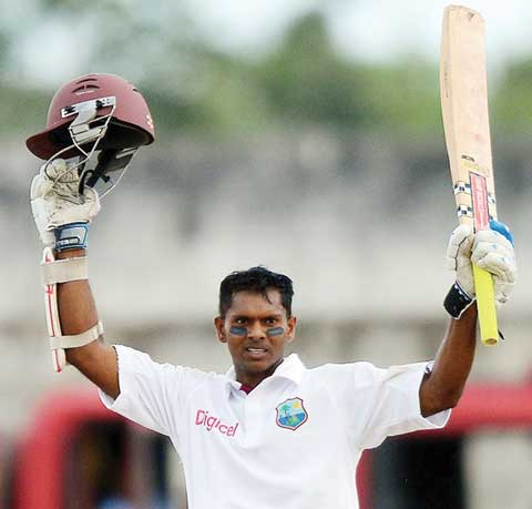 West Indies Batsmen Chanderpaul out of Australia series