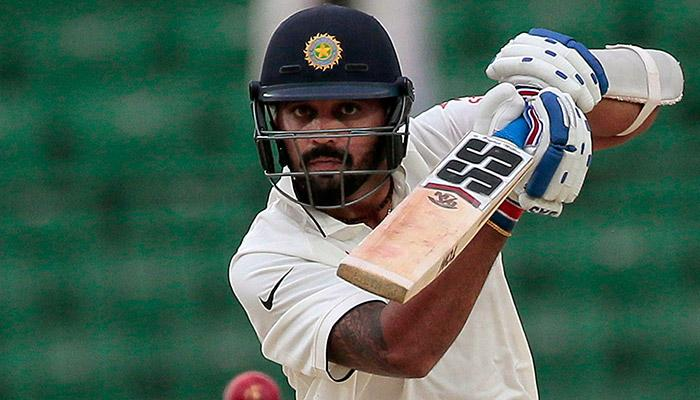 Shikhar Dhawan in sublime form as India posts 239/0 on Day1 of the rain affected match against Bangladesh