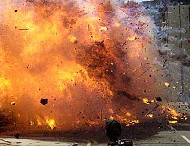 20 killed in a suicide bomber attack