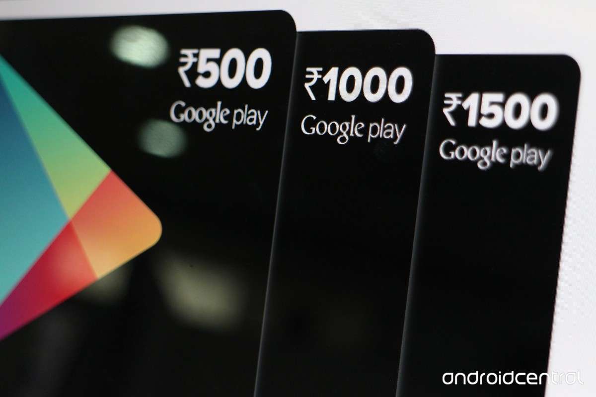 Google play to introduce Prepaid Vouchers in India