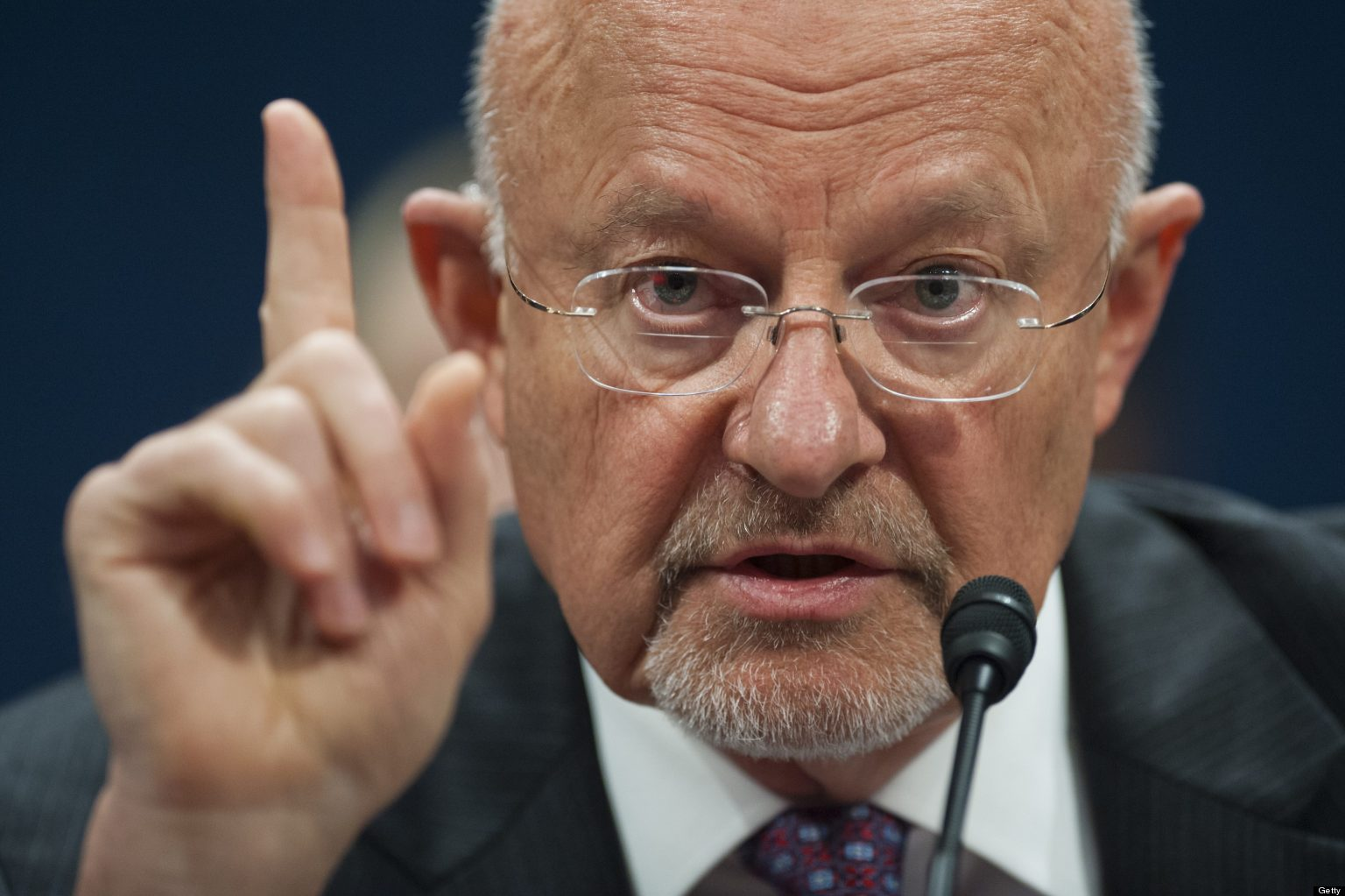 "US intelligence chief James Clapper says ""China is the leading suspect in the massive cyber hack"""