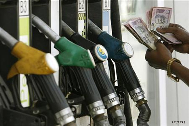 Petrol prices hiked as Diesel price goes down