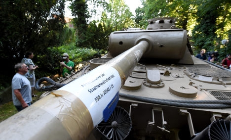 World War Two tank discovered in basement of house in Kiel