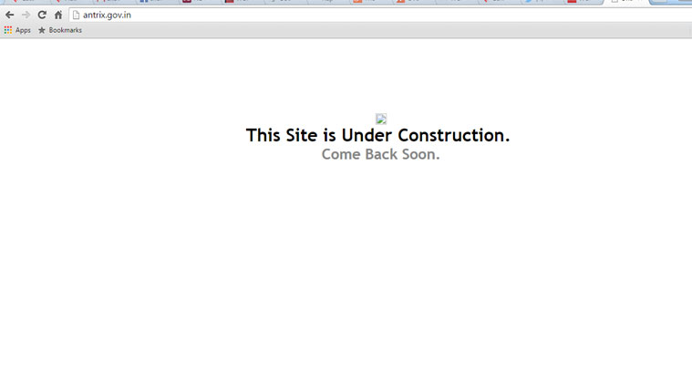 ISRO's commercial arm Antrix's website hacked