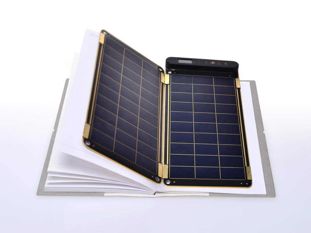 Solar Paper- A Smart Phone solar charger, as thin as a paper!