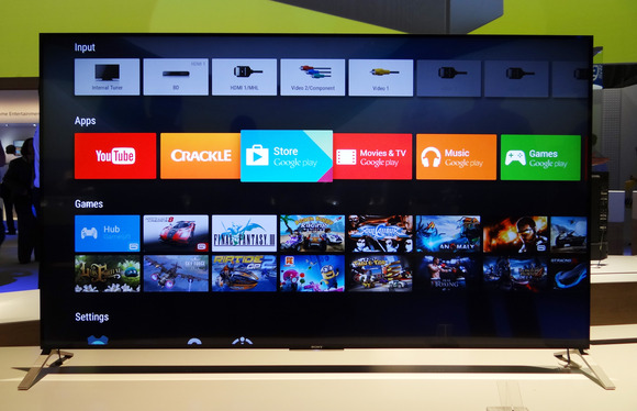 Sony launches Android Tvs with Lollipop 5.0 in India
