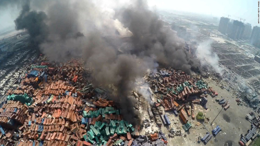 Tianjin explosions: Sodium Cyanide 'found' may lead to dangerous effects
