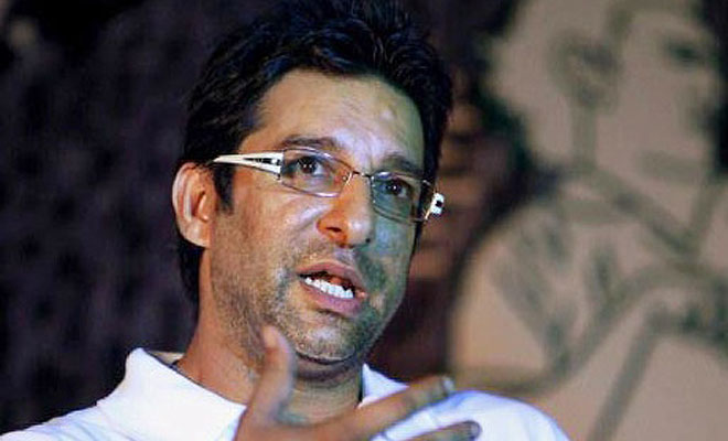 Former Pakistan Cricketer Wasim Akram narrowly escapes a firing on his car in Karachi