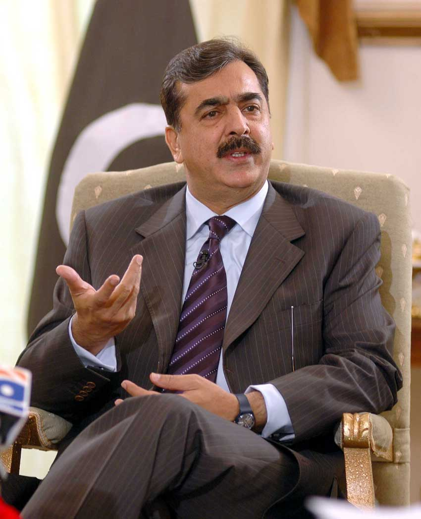 Pak court issues arrest warrant against the former Pakistan PM Yousuf Raza Gilani