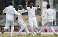 India at 50/2 on Day 1 of the Third Test at Colombo!