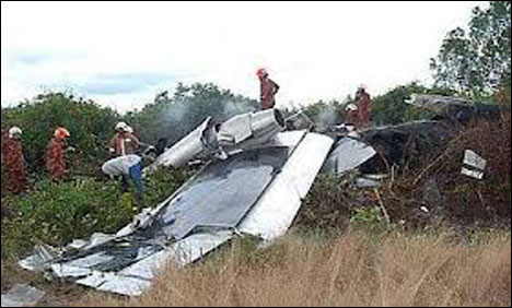 Plane crash in Alaska, three killed