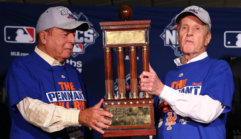 Wilpons Revel in the Moment with Mets in the World Series