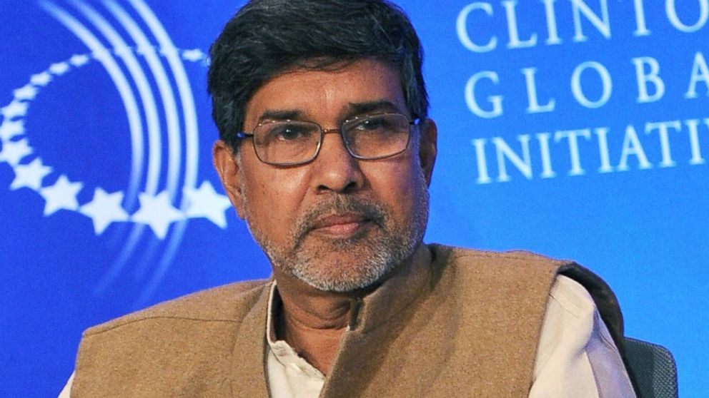 "Nobel Prize laureate Kailash Satyarthi honored with Harvard's ""Humanitarian of the year"" award"