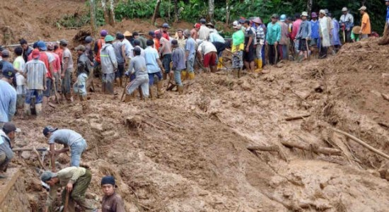 Landslide in Myanmar kills more than 100 people