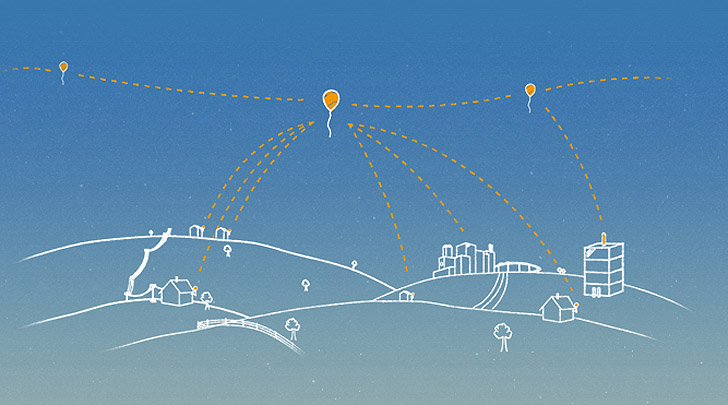Government approves testing of Google's 'Project Loon' to provide Internet via balloons