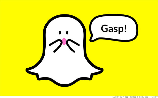 Snapchat Users' Private Snaps Not Being Stored