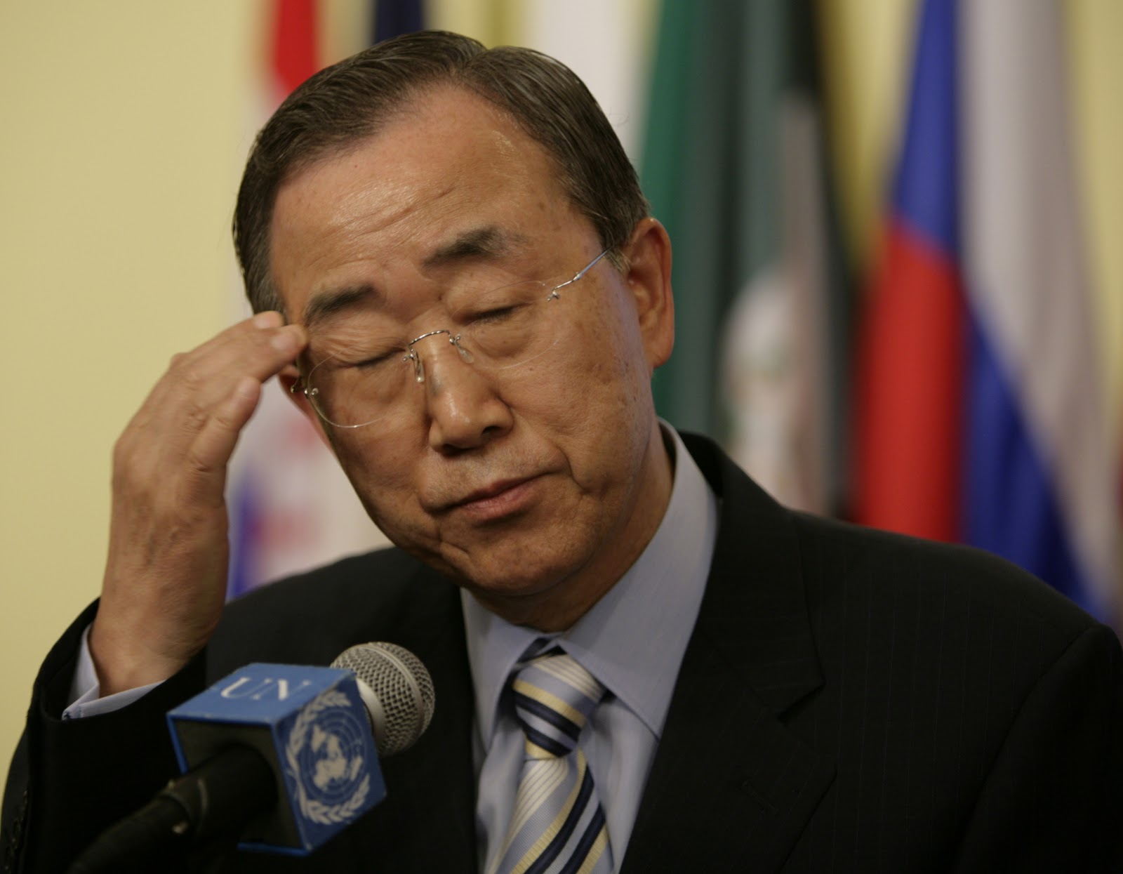 Indo-Pak bilateral relations can only be improved through dialogue: Ban Ki-moon