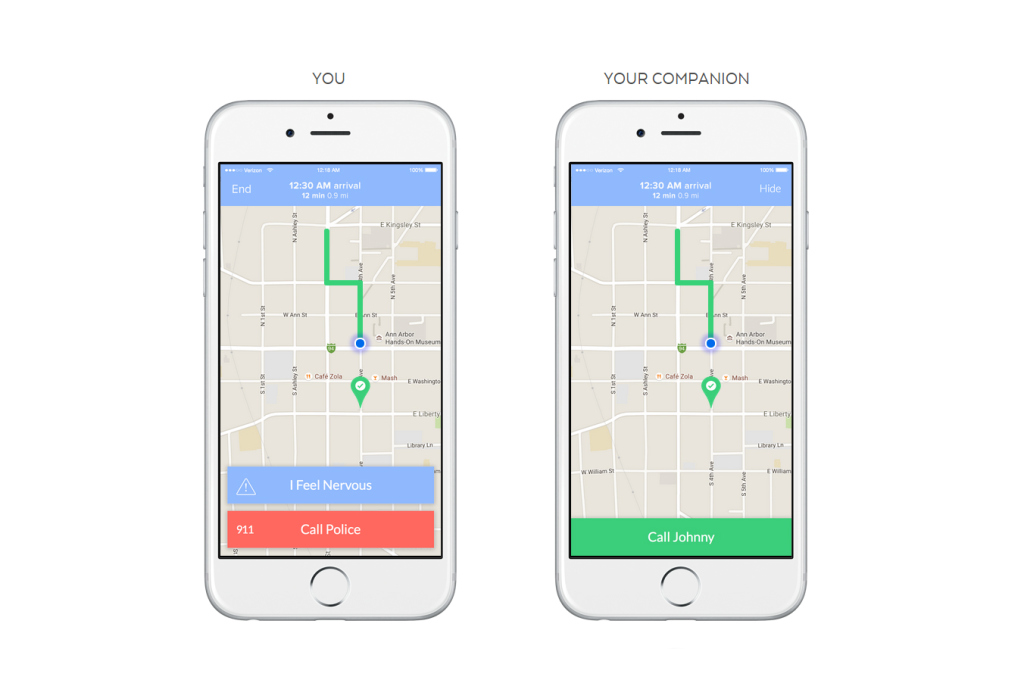 Companion App Launched to Make Sure Students Get Home Safe at Night