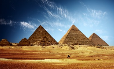 Mysterious Hot Spots Revealed in Thermal Scan of Egypt's Pyramids