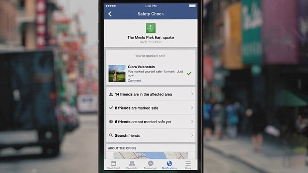 Facebook Safety Check Leads Support of Paris by Technology