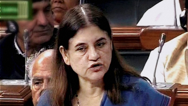 All cell phones will soon have a panic button for Women's safety: Maneka Gandhi