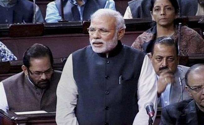 Intolerance row: PM Modi replies to opposition in Rajyasabha