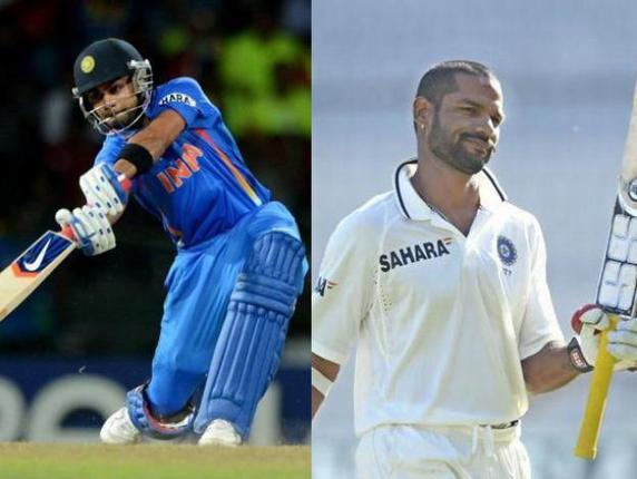 Virat Kohli and Shikhar Dhawan to play under Gautam Gambhir for Delhi