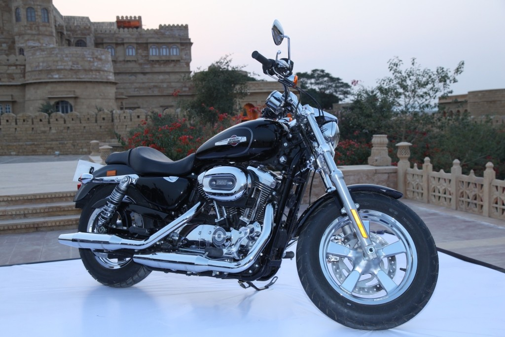 Harley-Davidson launches its new model Sportster 1200 custom