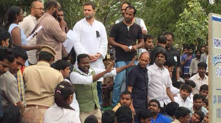Rahul Gandhi to join HCU student's candle-march on Rohith Vemula Suicide issue