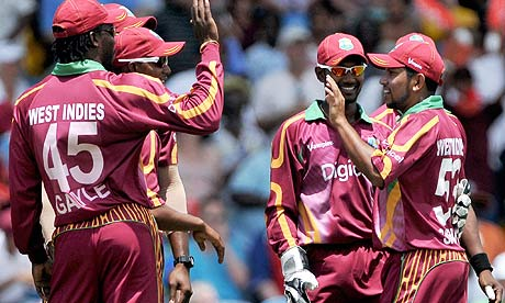 West Indies ranked No. 1 in T20s
