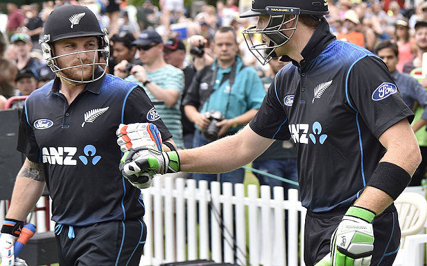 Australia bashed by New Zealand in One day series opener.