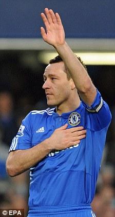 Chelsea captain John Terry leaving Chelsea