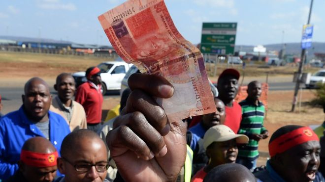 South Africa's economy struggles