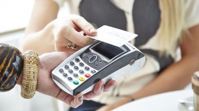 Contactless card payments surge